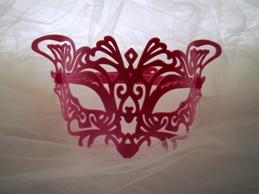 maschere stile veneziano in plastica made in Italy